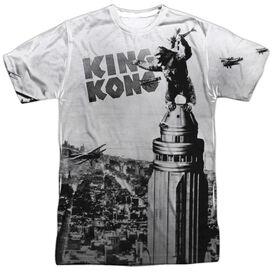 King Kong Breaking Loose Short Sleeve Adult 100% Poly Crew T-Shirt