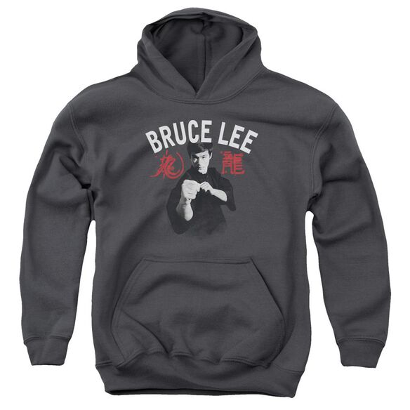 Bruce Lee Ready Youth Pull Over Hoodie