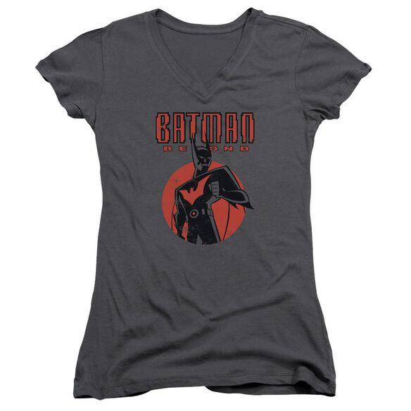 Batman Beyond Iconic Pose Junior V Neck T-Shirt