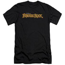 Fraggle Rock Logo Premuim Canvas Adult Slim Fit