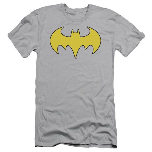 Dc Bat Girl Logo Short Sleeve Adult T-Shirt