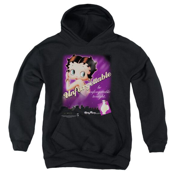 Betty Boop Unforgettable Youth Pull Over Hoodie