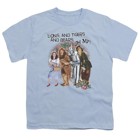 Wizard Of Oz Oh My Short Sleeve Youth Light T-Shirt