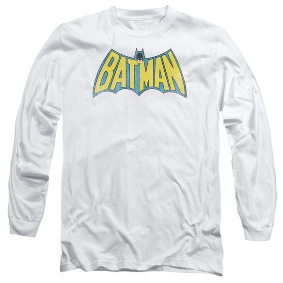 Dc Classic Batman Logo Long Sleeve Adult T-Shirt