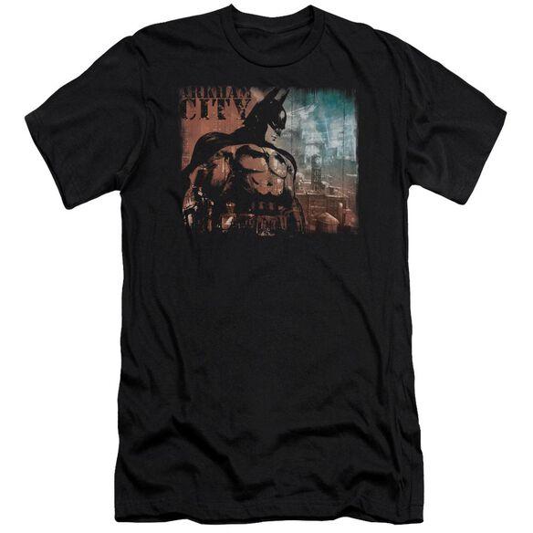 Arkham City City Knockout Short Sleeve Adult T-Shirt