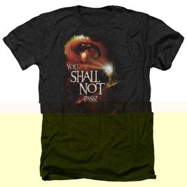 LOR YOU SHALL NOT PASS - ADULT HEATHER - BLACK
