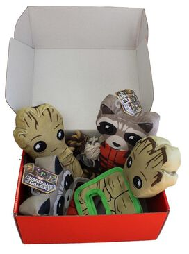 Guardians of the Galaxy Fetch Crate for Pets!
