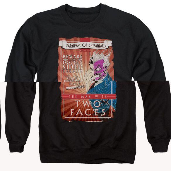 Batman Two Faces - Adult Crewneck Sweatshirt