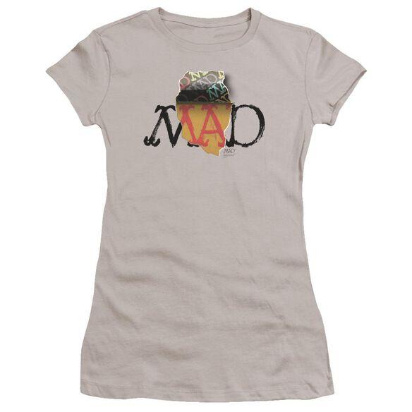 Mad Torn Logo Premium Bella Junior Sheer Jersey