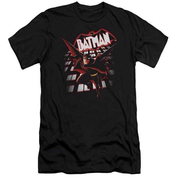 Beware The Batman From The Top Short Sleeve Adult T-Shirt