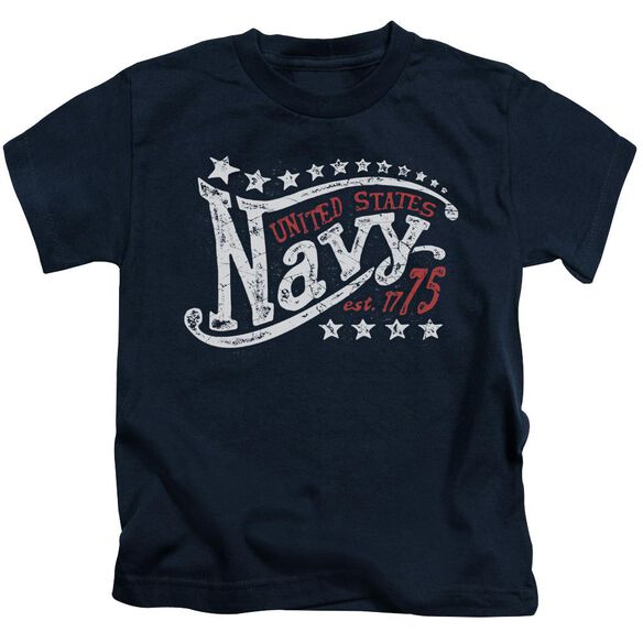 Navy Stars Short Sleeve Juvenile Navy T-Shirt