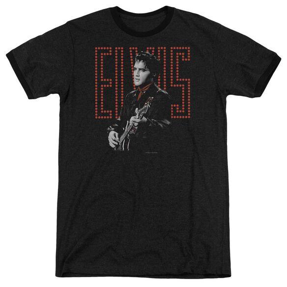 Elvis Red Guitarman Adult Heather Ringer