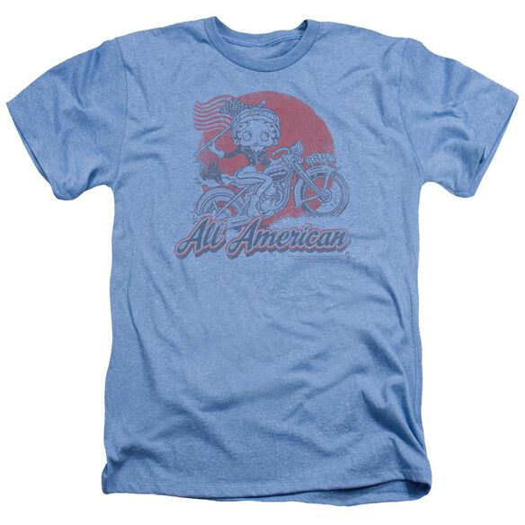 Betty Boop All American Biker Adult Heather Light