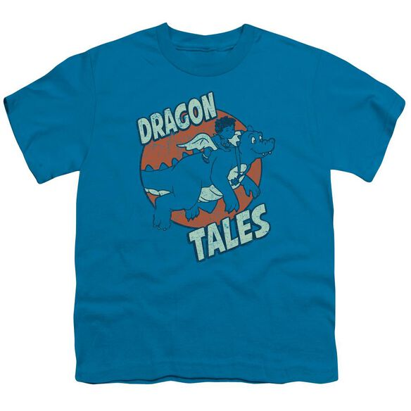 Dragon Tales Flying High Short Sleeve Youth T-Shirt