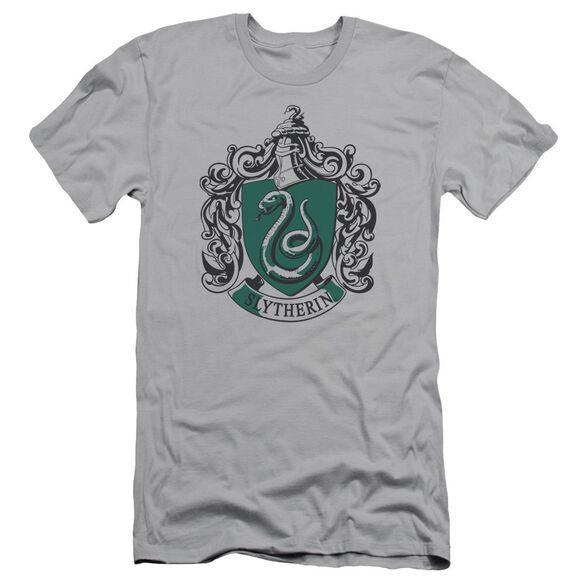 Harry Potter Slytherine Crest Hbo Short Sleeve Adult T-Shirt