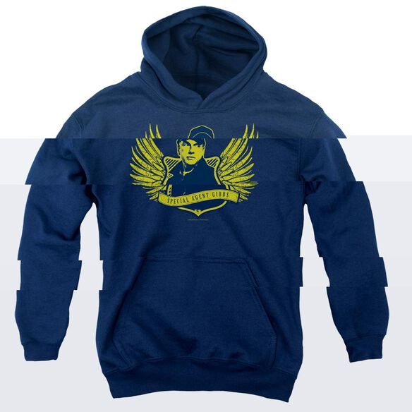 Ncis Go Navy-youth Pull-over Hoodie - Navy