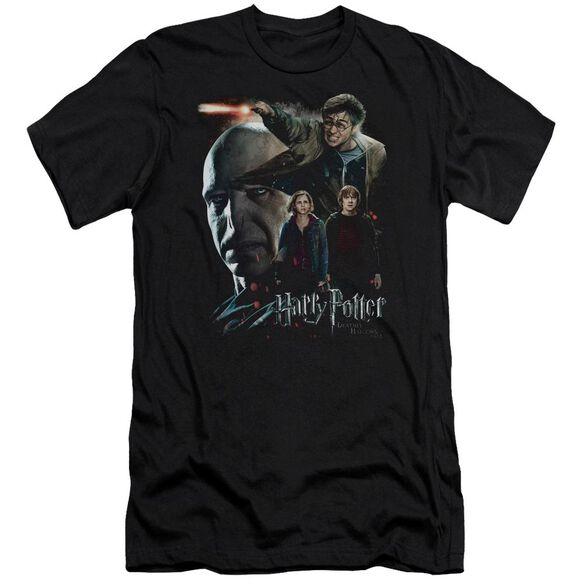 Harry Potter Final Fight Short Sleeve Adult T-Shirt
