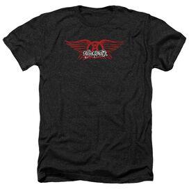 Aerosmith Winged Logo Adult Heather