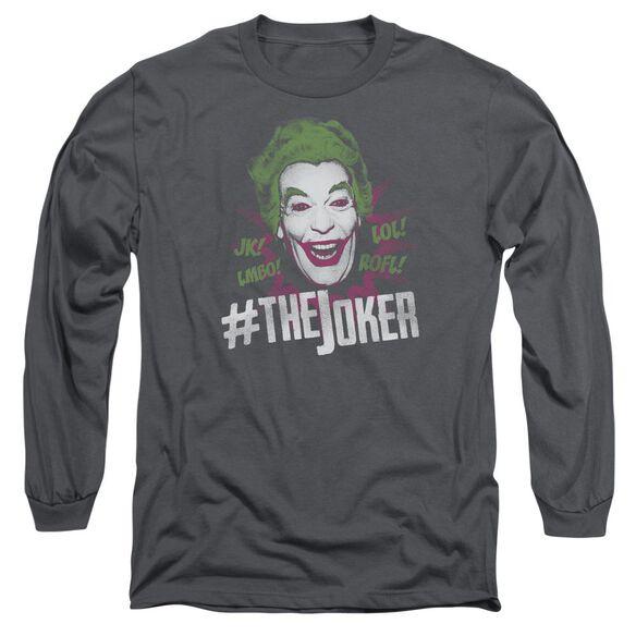 BATMAN CLASSIC TV #JOKER- L/S ADULT T-Shirt