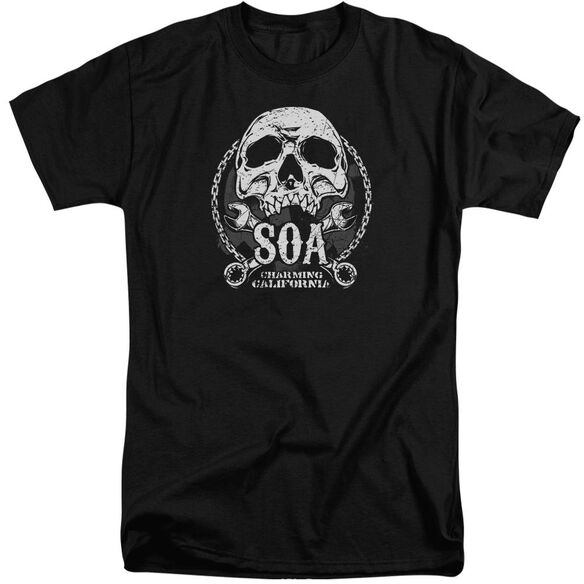 Sons Of Anarchy Soa Club Short Sleeve Adult Tall T-Shirt