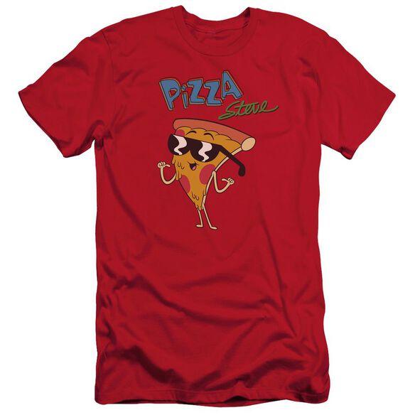 Uncle Grandpa Pizza Steve Short Sleeve Adult T-Shirt