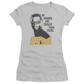 STAR TREK COOLER SHADES - S/S JUNIOR SHEER - SILVER T-Shirt