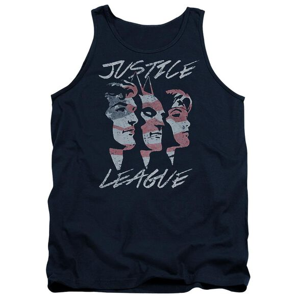 Jla Justice For America Adult Tank