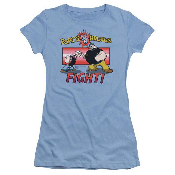Popeye Flight Short Sleeve Junior Sheer Carolina T-Shirt