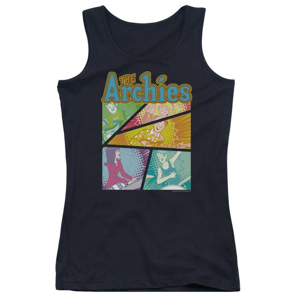 Archie Comics The Archies Colored Juniors Tank Top