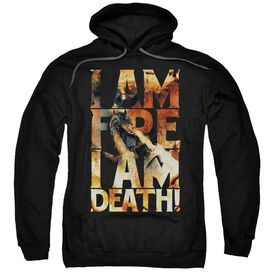 Hobbit I Am Fire Adult Pull Over Hoodie