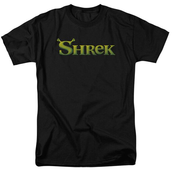 Shrek Logo Short Sleeve Adult T-Shirt