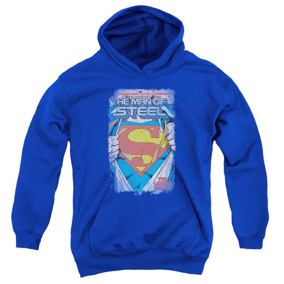 Superman Legendary Youth Pull Over Hoodie
