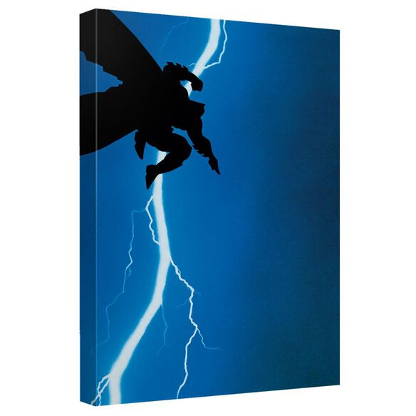 Batman Dkr Cover Canvas Wall Art With Back Board