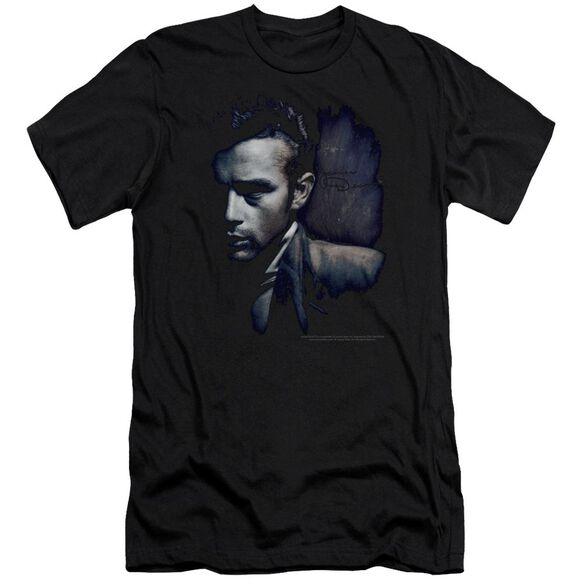 Dean In Shadow-premuim Canvas Adult Slim