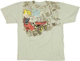 Dennis the Menace Wagon Youth T-Shirt
