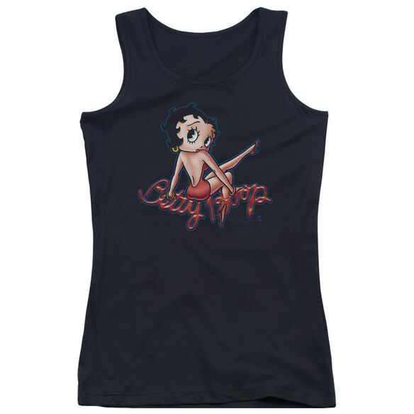 Betty Boop Betty's Back Juniors Tank Top