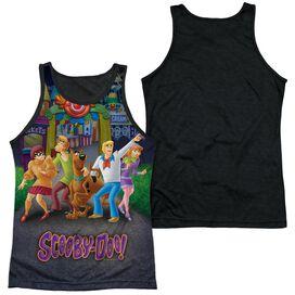 Scooby Doo Amusement Park Adult Poly Tank Top Black Back
