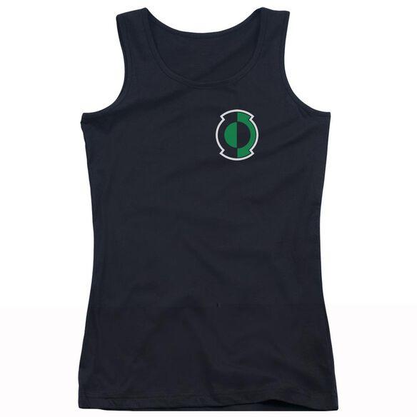 Green Lantern Kyle Logo Juniors Tank Top