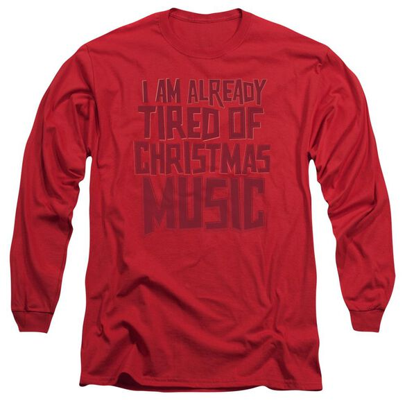 Tired Tunes Long Sleeve Adult T-Shirt