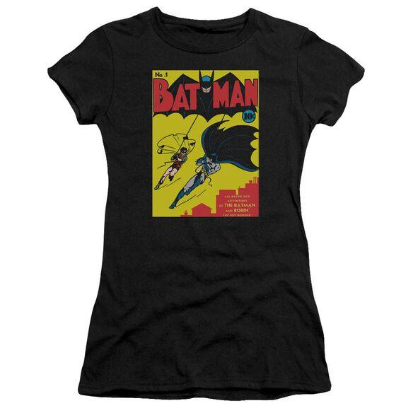 Batman Batman First Short Sleeve Junior Sheer T-Shirt