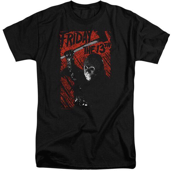 Friday The 13 Th Jason Lives Short Sleeve Adult Tall T-Shirt