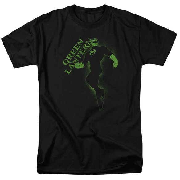 Gl Lantern Darkness Short Sleeve Adult Black T-Shirt