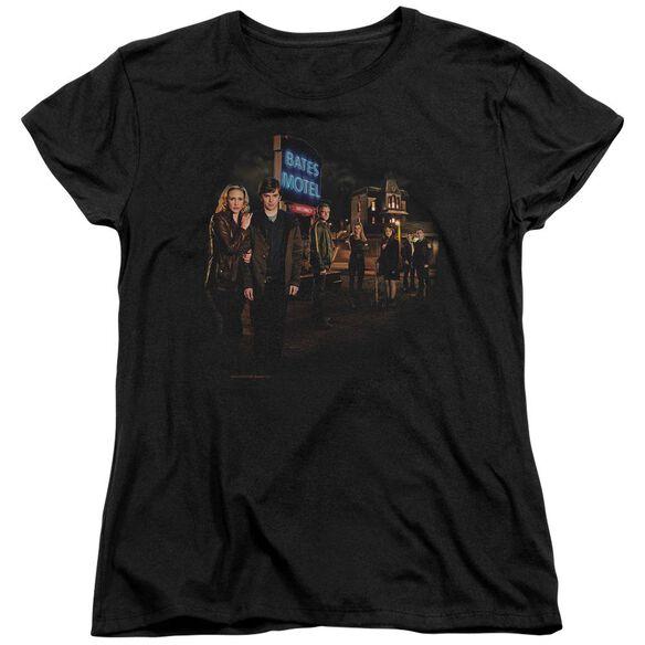 Bates Motel Cast Short Sleeve Womens Tee T-Shirt