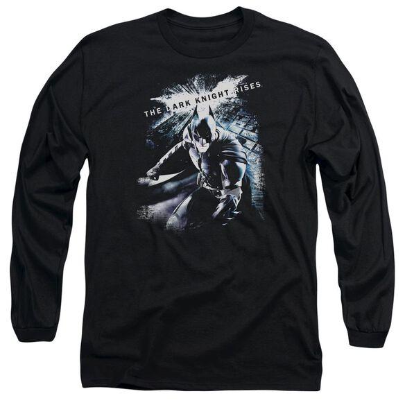 Dark Knight Rises More Than A Man Long Sleeve Adult T-Shirt