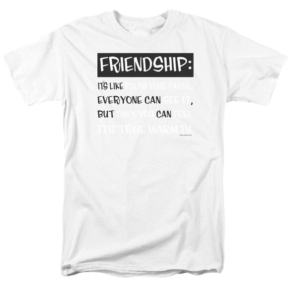 Friendship Short Sleeve Adult Safari Green T-Shirt