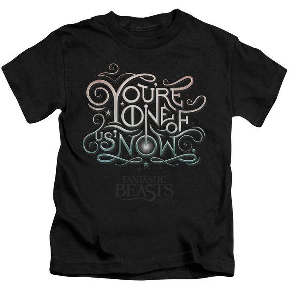 Fantastic Beasts One Of Us Short Sleeve Juvenile T-Shirt