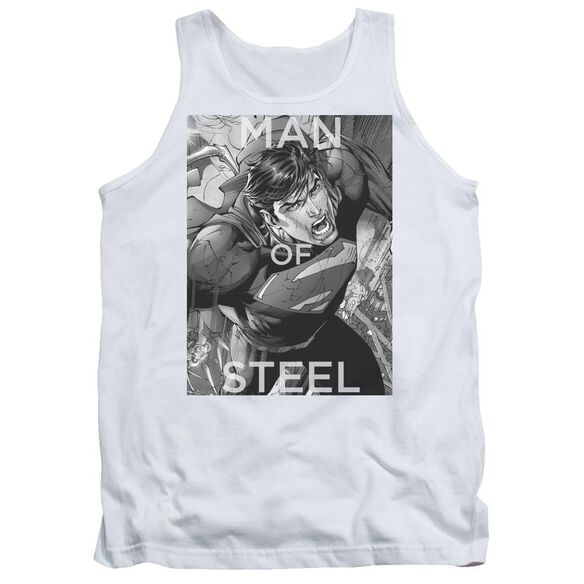 Superman Flight Of Steel Adult Tank