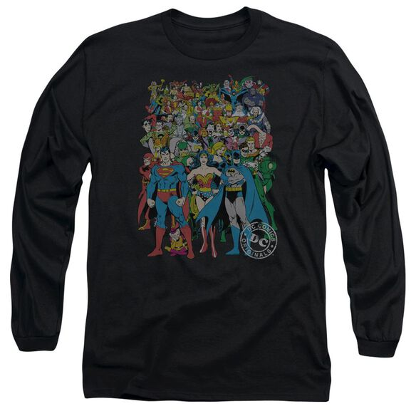 Dc Original Universe Long Sleeve Adult T-Shirt