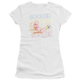 Popeye Soccer Short Sleeve Junior Sheer T-Shirt