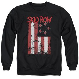 Skid Row Flagged Adult Crewneck Sweatshirt